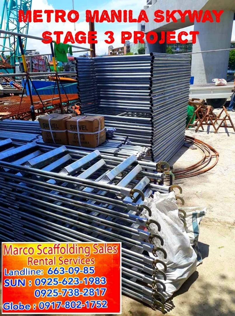 Scaffolding Ladder Rental Construction Industrial Construction Building Materials On Carousell
