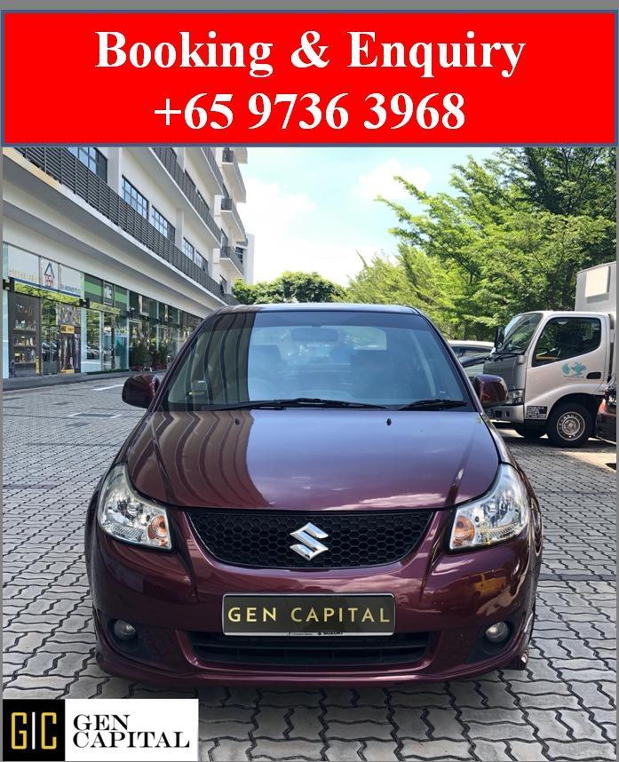 Suzuki Swift SX4 *Lowest rental rates, good condition!
