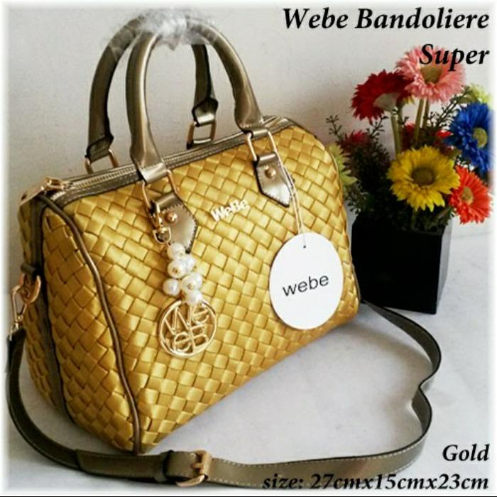 Tas WeBxxe Bandonliere Super - Tas Wanita Branded Murah - Handbag Impor