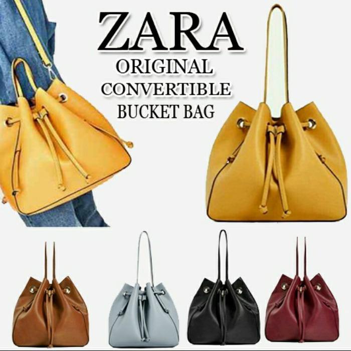 Tas ZARA Serut Original - Tas Wanita Branded Murah - Handbag Import