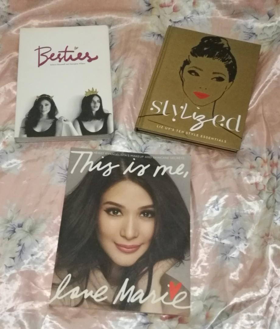 This is me, Love Marie by Heart Evangelista   Stylized by Liz Uy   Besties by Solenn Heussaff and Georgina Wilson