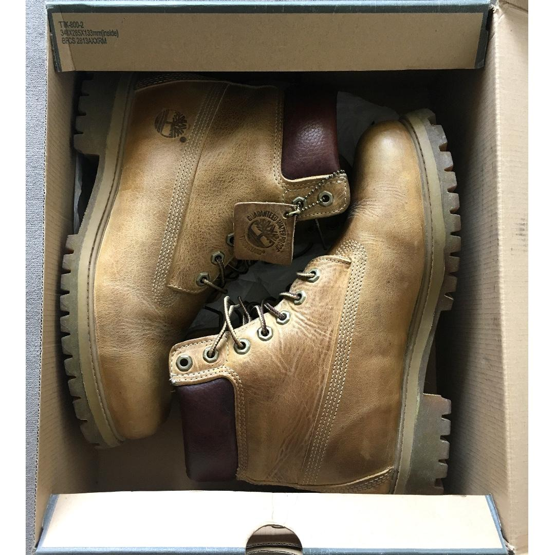 ficción fecha espacio  Timberland Heritage Classic 6-inch Boots in Burnished Wheat WATERPROOF -  REDUCED PRICE, Men's Fashion, Footwear, Boots on Carousell