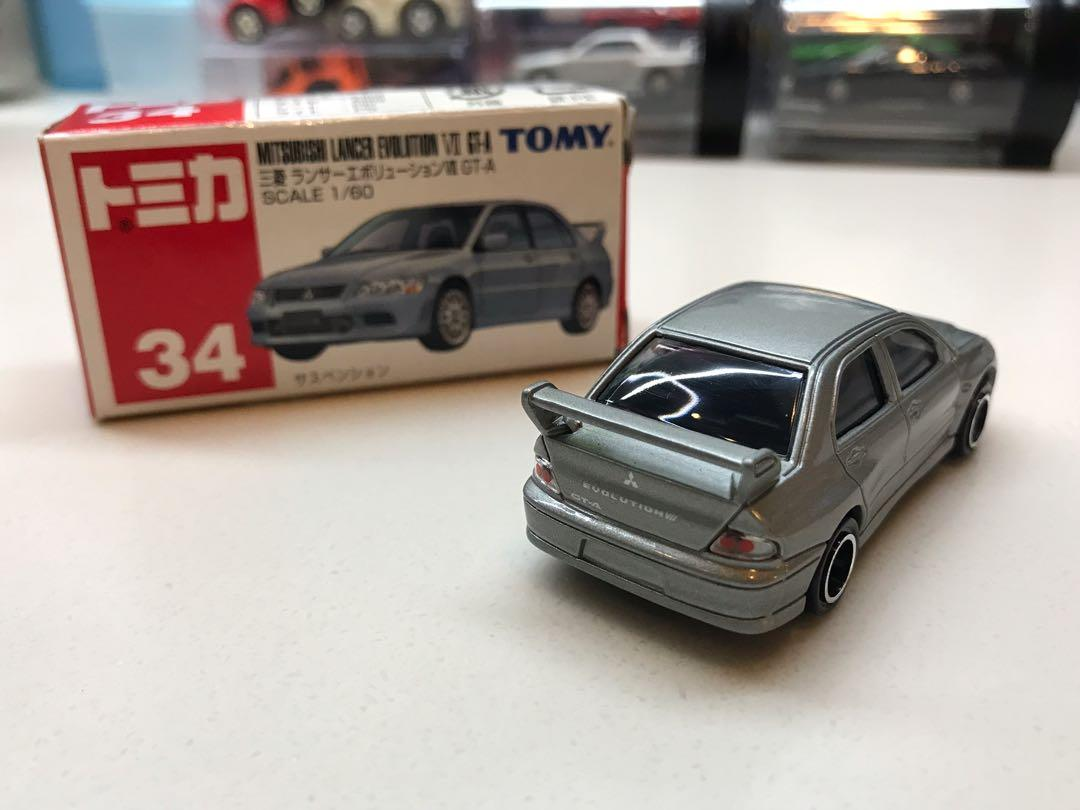Tomy Tomica Mitsubishi Lancer evolution VII