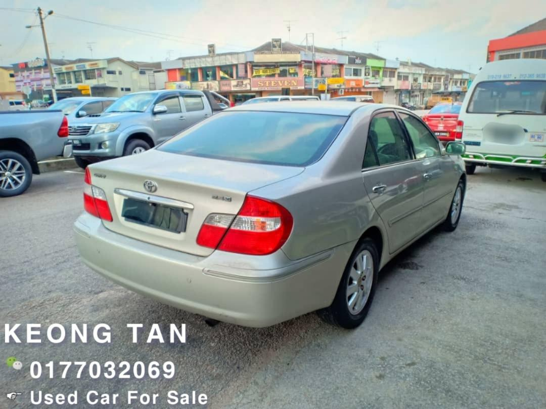 TOYOTA CAMRY 2.4AT V SPEC🎉2003TH Jual Cash Shj🎉Cash💰OfferPrice💲Rm18,800 Only‼Lowest Price InJB 🎉📲 Keong‼🤗