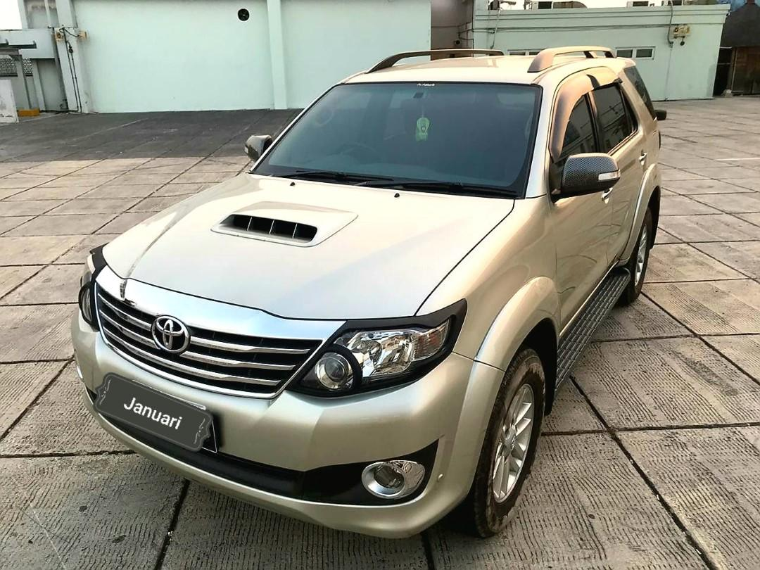 Toyota Fortuner VNt G 2.5 AT solar 2013 silver Dp 35 jt