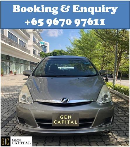 Toyota Wish @ Best rates, full servicing provided!