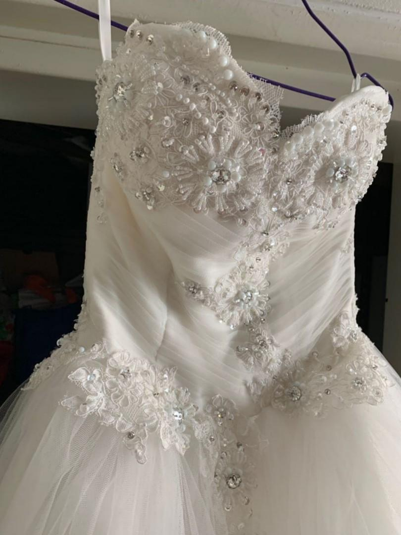 White Wedding Ball Gown [Discounted]