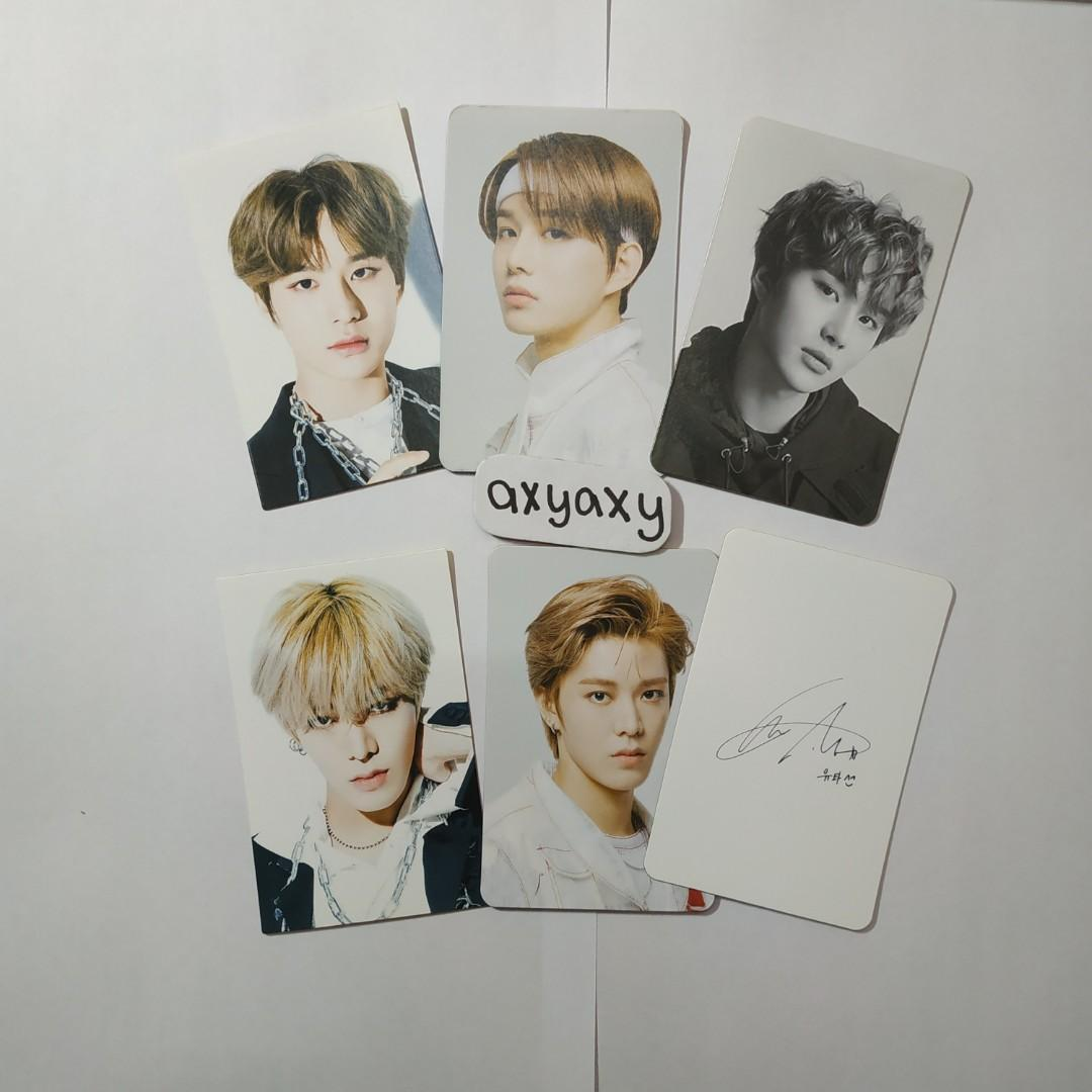 [WTS] NCT 127 Lenticular Photocard Yuta and Jungwoo Set