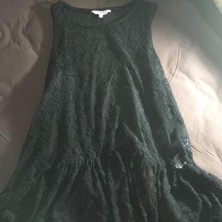 NEW LOOK Black Crochet Tank Top
