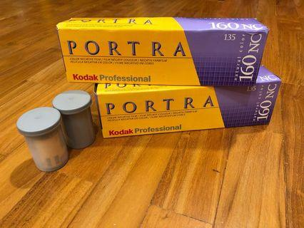 Kodak portra 160NC 35mm film