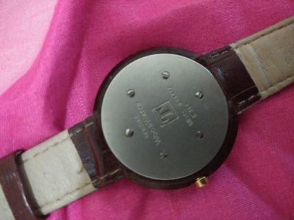 Jam bekas tissot wood watch original
