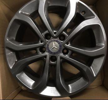 """Original 17"""" Mercedes-Benz OEM Rims"""
