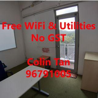 Aircon Office Space + Storage Rental / Work + Store for Rent near Bukit Batok / Jurong