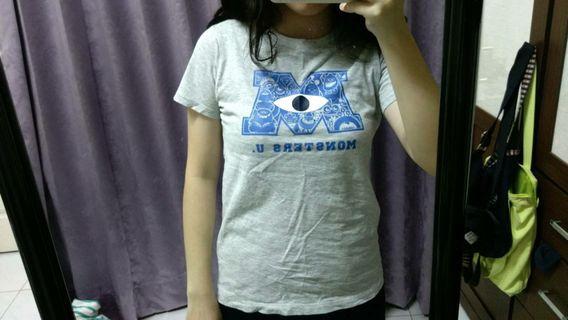 怪獸大學t恤