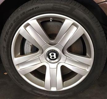 "19"" Original Bentley Continental Rims"