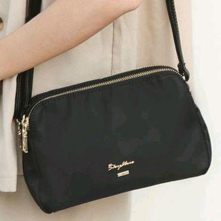 🚚 💌📮Free NORMAL postage 💯Brand New SkyBlue Black Sling Bag