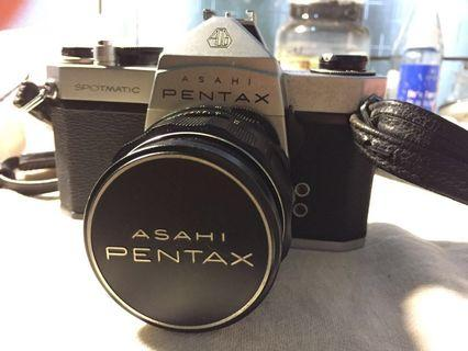 Asahi pentax 單眼底片機 日本製