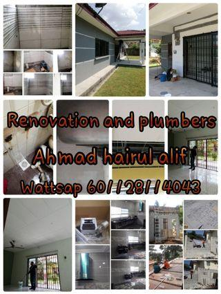 Renovation and plumbers Ahmad alif