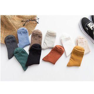 [全新]素色襪子