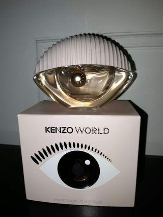 Parfum kenzo world ori