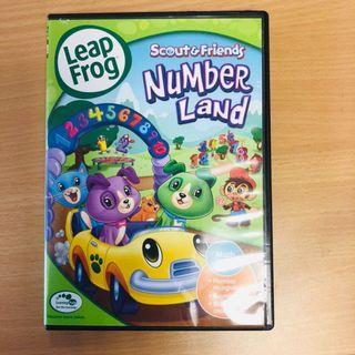 🚚 Leapfrog DVD Numberland