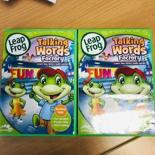 🚚 Leapfrog DVD Talking Words Factory