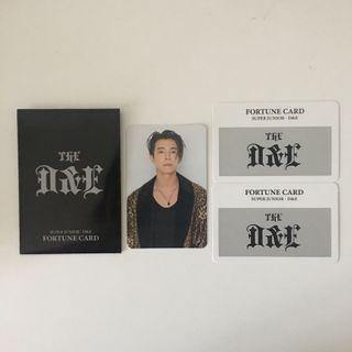 [WTS/WTT] Super Junior D&E Donghae Fortune Scratch Set