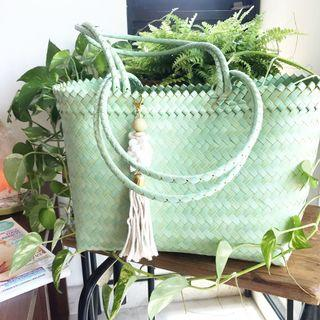 🚚 Handshoulder bag handmade by villagers