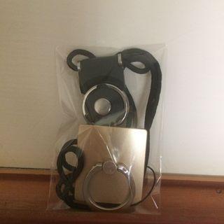 手機指扣環+手機吊繩