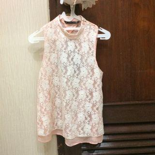 Zara TRF pink backless top  #joinagustus
