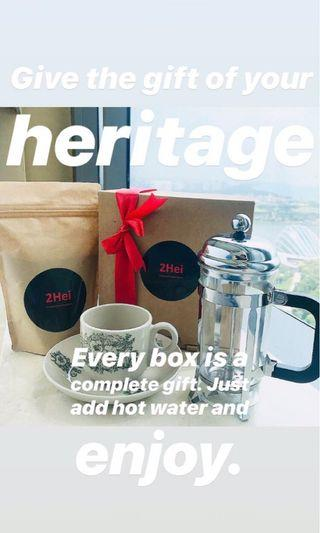 *Fresh Ground Coffee. Free Delivery on all Orders* The Singapore Heritage Box