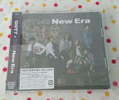 GOT7 THE New Era (A version/CD+DVD)