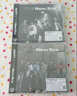 GOT7 THE New Era [C version (CD+DVD/TWO)] [B version (CD+DVD/HMMM)]