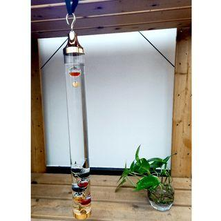 decor orament hanging thermometer