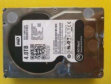 Western Digital Black 4TB (7200rpm)