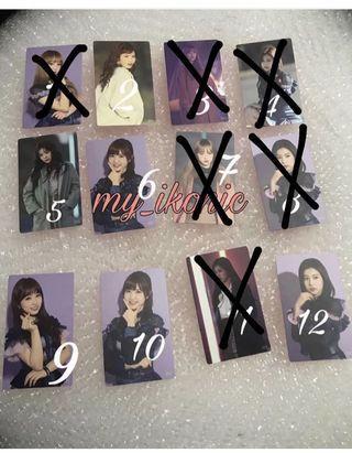 izone Japan photocard