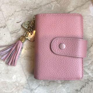 Dompet Pink beli di Jepang Kulit asli
