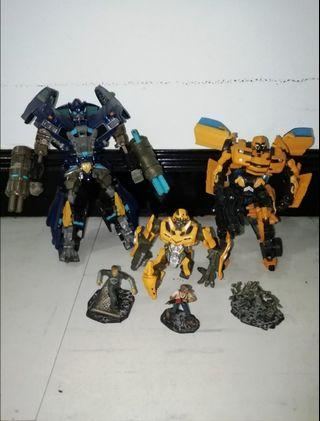 Transformers Movie Ironhide & Bumblebee [Voyager Class]