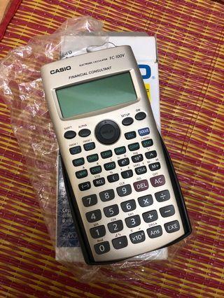 Financial Calculator FC-100V