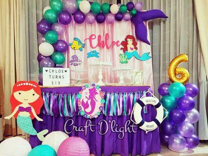Mermaid Theme Party Decorations