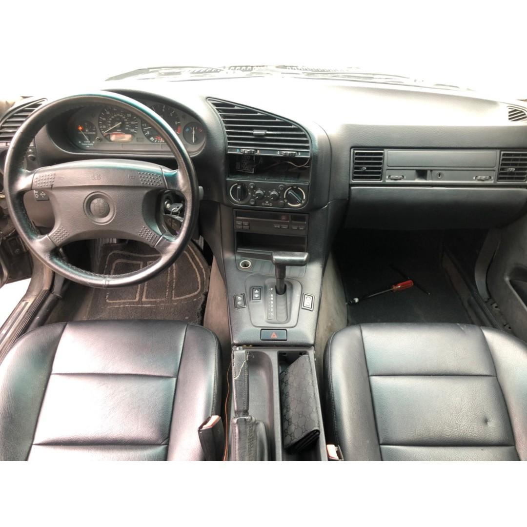 1992年 BMW E36 325 CI  雙門 鈑件內裝漂亮 M3 外觀