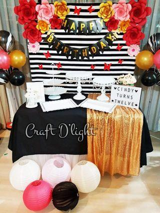 Butterfly Garden Theme Party Decorations