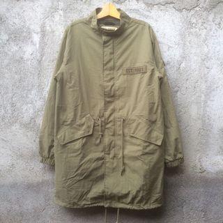 Parka Jacket Fishtail Military Pull & Bear