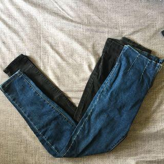 歐美高腰小腳褲