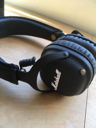 Marshall MID bluetooth 藍牙耳機