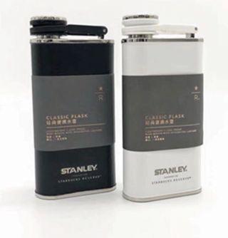 上海星巴克STARBUCKS與STANLEY聯名款酒壺造型保溫瓶