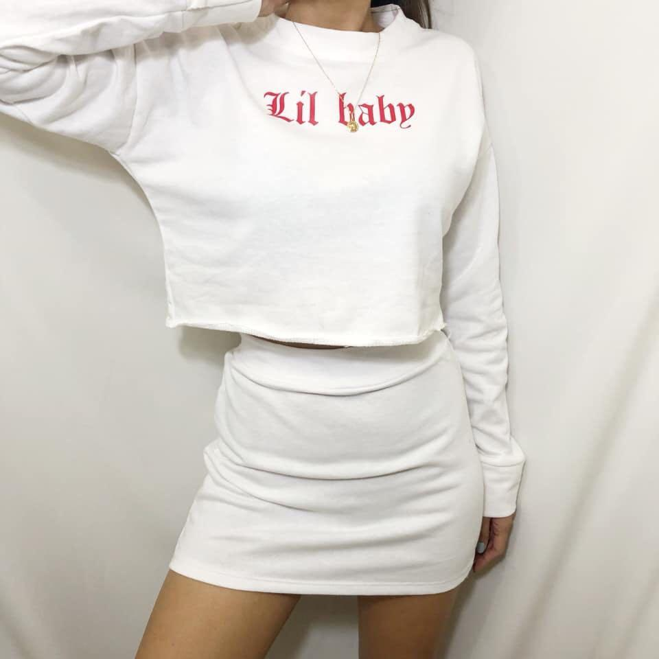 ⚡️ Lil Baby Cropped Sweatshirt