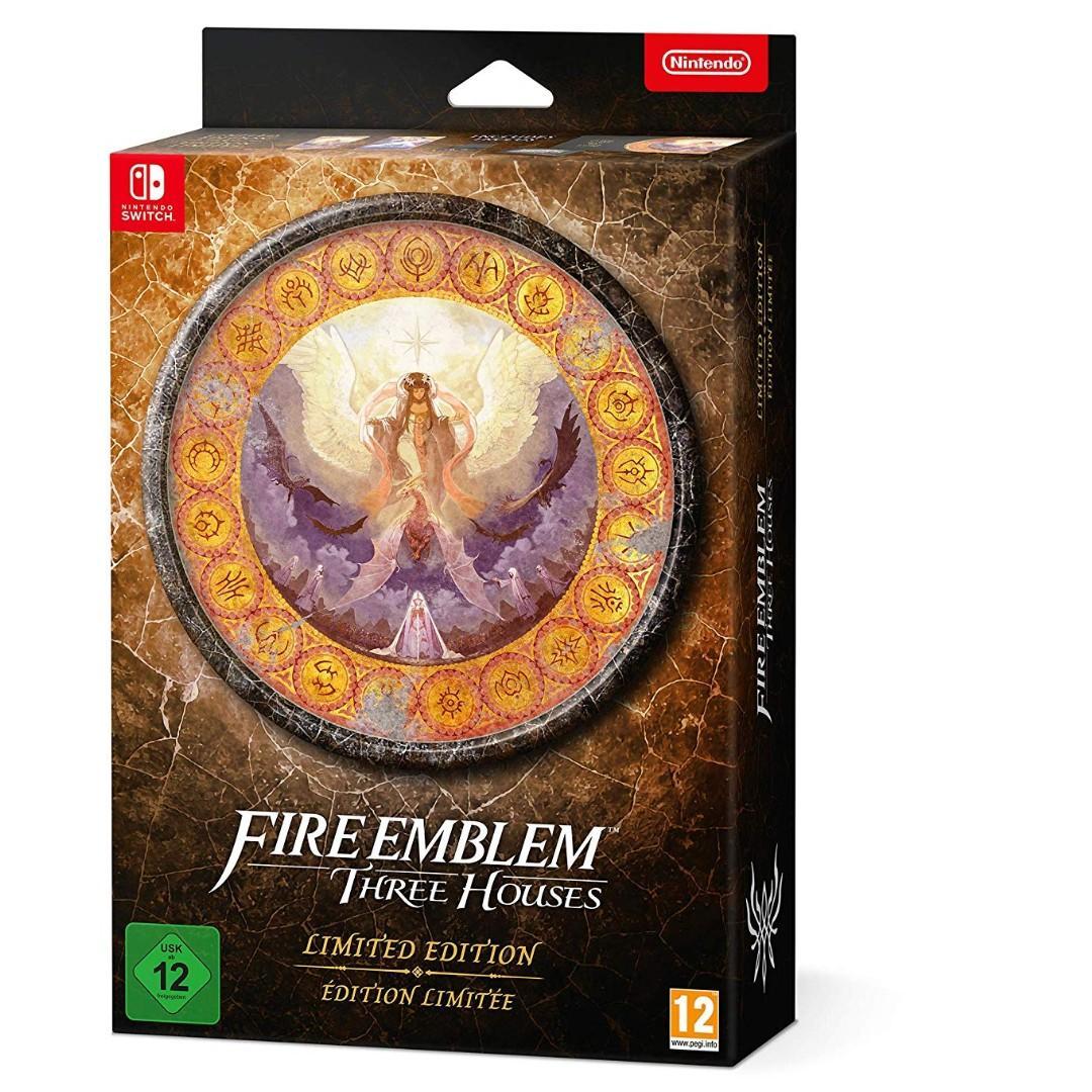 (全新歐洲限定版) NS Fire Emblem: Three House火紋 Switch 火炎之紋章 風花雪月 Fódlan Collection (中/英/日文)