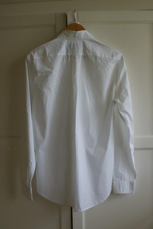Acne Studios Blå Konst White Shirt | Mens / 180 / 92A XS