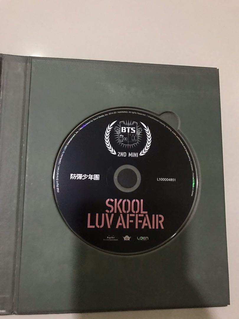 Album BTS Skool Luv Affair